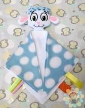 Boy Lamb Sensory Security Blanket Lovey/Small Size - $10.00