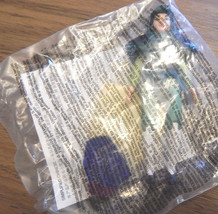 Rare  NEW 1998 McDonalds Disney's MULAN  Toy #1 MULAN Figure w/ Armor+Dress - $5.50