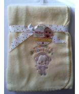 Nuby Fleece Yellow Mommy Loves Me Soft Fleece Blanket Monkey  - $12.95