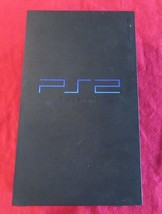 Sony PlayStation 2 Original Fat Black Console SCPH-50001 for Parts or Re... - $19.79