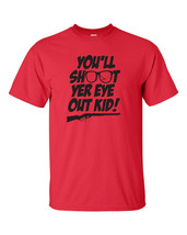 A Christmas Story You'll Shoot Your Eye Out Ralphie Christmas Men's Tee ... - €8,58 EUR+
