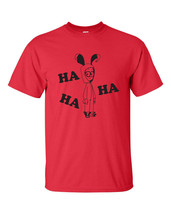 A Christmas Story Nightmare Ralphie Bunny Suit Ha Ha Ha  Men's Tee Shirt - $9.85+