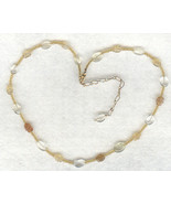 Golden Citrine Gemstone Necklace 3 - $10.32