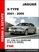 2001 - 2009 Jaguar X Type Diesel Factory Oem Workshop Service Repair Fsm Manual - $14.95