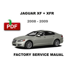 2008 - 2009 JAGUAR XF DIESEL FACTORY OEM SERVICE REPAIR WORKSHOP FSM MANUAL - $14.95