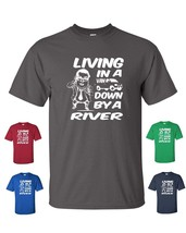 LIVING IN A VAN DOWN BY THE RIVER CHRIS FARLEY MATT FOLEY Tee Shirt - $9.85+