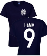 Mia Hamm United States Women's Soccer Team 2 Sides LADIES Tee Shirt 1183 - $8.86+