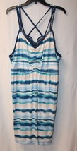 NEW LANE BRYANT CACIQUE WOMENS PLUS SIZE 4X 26/28 28W TIE DYE CHEMISE NI... - $24.18