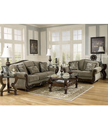 NORWICH - Traditional Wood Trim & Fabric Sofa C... - $1,445.78