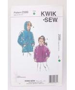 Kwik Sew Girls Jackets Sweatshirt Hoodie #2354 Sizes  8 10 12 14 - $9.46