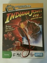 Indiana Jones DVD Adventure Game Screen Show Board Game-Hasbro NEW - $9.49