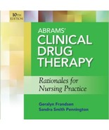 Abrams Clinical Drug Therapy Rationales for Nur... - $8.00