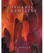 Organic Chemistry 8th Edition by L. G. Wade Jr... - $4.00