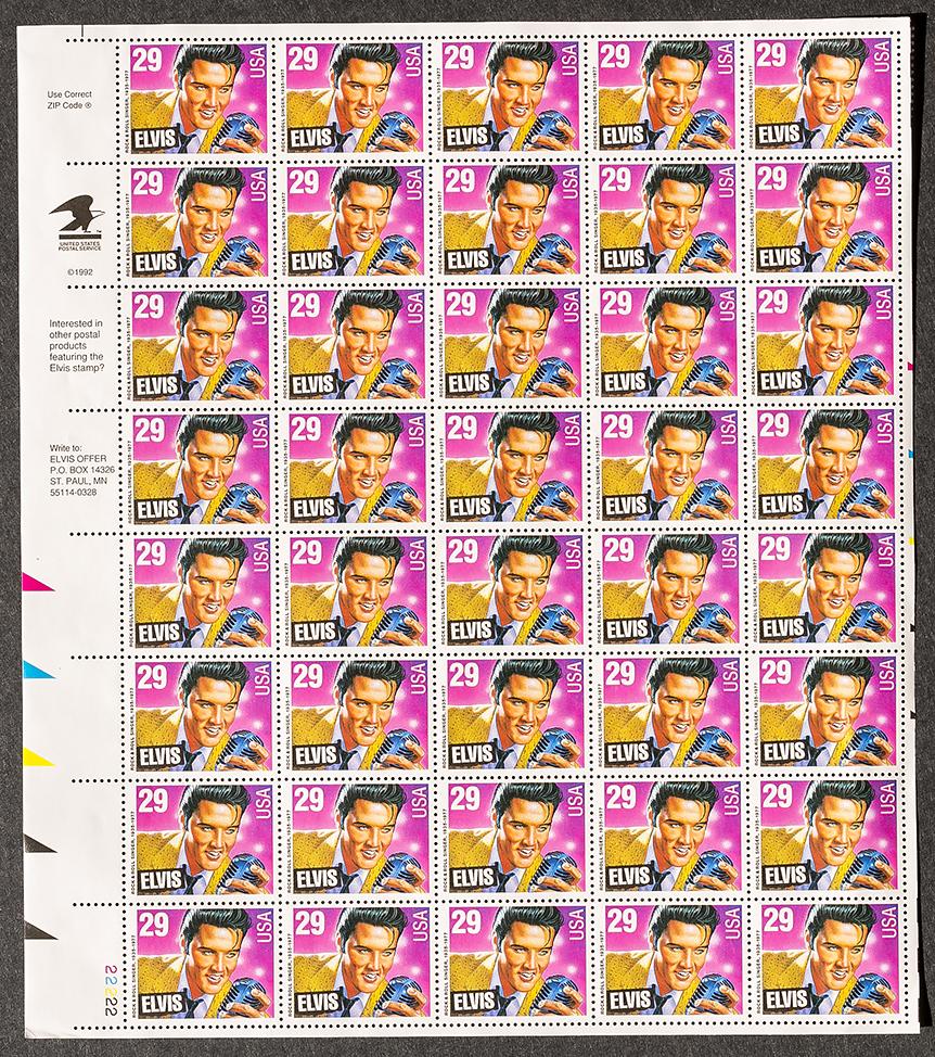 Elvis 29 stamps