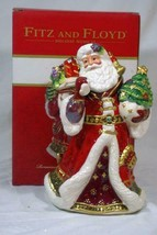 """Fitz And Floyd 2019 Renaissance Holiday Wind Up Porcelain Musical Figure 9 3/4"""" - $131.66"""