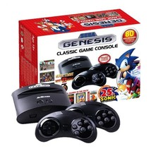 Sega Genesis Classic Game Console w/ 80 Built-In Games 25th Sonic Anniv... - $89.30