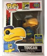 Funko Pop! SDCC 2020 Summer Convention Comic Con Toucan as Superhero Fig... - $59.99