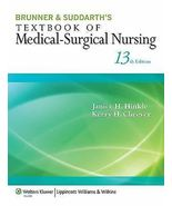 Brunner & Suddarth's Textbook of Medical-Surgic... - $1.48