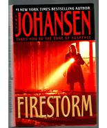 IRIS  JOHANSEN  *  FIRESTORM  *  HARDCOVER  NOVEL ~ 2004 - $3.00