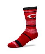 MLB Cincinnati Reds Logo RMC Stripe Mens Large Crew Cut Socks - $6.95