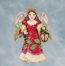 Angel With Lantern 2016 Winter Series cross stitch kit Jim Shore Mill Hill - $7.65
