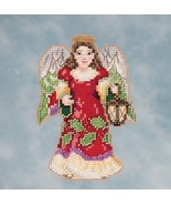 Angel With Lantern 2016 Winter Series cross stitch kit Jim Shore Mill Hill - $7.65