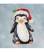 Penguin 2016 Winter Series cross stitch kit Jim Shore Mill Hill - $7.65