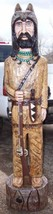 Gallagher 4' Cigar Store Indian OLD WEST MOUNTAIN MAN Hand Carved Sculpt... - $999.00