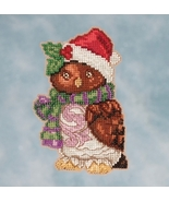Owl 2016 Winter Series cross stitch kit Jim Shore Mill Hill - $7.65