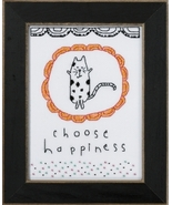 Choose Happiness 2016 Amylee Weeks beaded butto... - $15.30