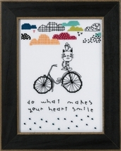 Makes Your Heart Smile 2016 Amylee Weeks beaded button kit Mill Hill - $15.30