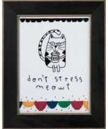 Don't Stress Meowt 2016 Amylee Weeks beaded but... - $15.30