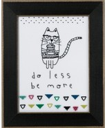 Do Less Be More 2016 Amylee Weeks beaded button... - $15.30