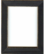 Matte Black wooden frame opening 6x8 Mill Hill  - $17.10