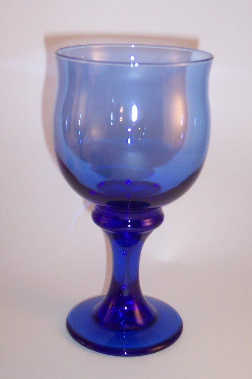 libbey goblets mediterranean blue clarion glass wine water. Black Bedroom Furniture Sets. Home Design Ideas