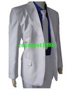 Michael Jackson MJ Smooth Criminal Costume Suit any size coat pants shir... - $82.83