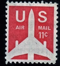 Stamps - U. S. Postage Stamps 11 cent Air Mail - $1.25