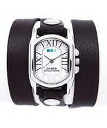 LA MER Black Italian/Silver Chateau Wrap Watch - $88.11