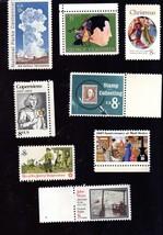 Stamps  U. S. Postage lot of  8 Vintage- 8 Cent Stamps  - $3.25