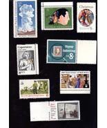 Stamps  U. S. Postage lot of  8 Vintage- 8 Cent Stamps  - $4.95