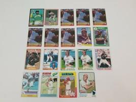 Joe Morgan Baseball Cards Lot of 19 1973 Topps #230 1975 Topps #180 1984... - $19.34