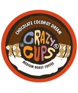 Crazy Cups Chocolate Coconut Dream Coffee 22 to 88 Keurig K cups Pick An... - $24.99+