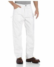 Dickies Men's Painter's Utility Pant Relaxed Fit White 38x32Style #1953WH NWT  - $27.10