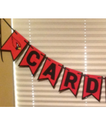 Nfl Arizona Cardinals Banner - Cardinals Banner - Cardinals Birthday Dec... - $25.00