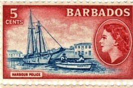Stamps - Barbados -Block of 4 Postage Stamps from Barbados (Island of Ba... - $1.25