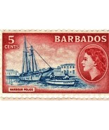 Stamps - Barbados -Block of 4 Postage Stamps from Barbados (Island of Ba... - $1.45