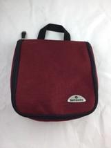 Samsonite Hanging Toiletry Bag Red Gently Used ... - $14.01