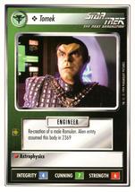 Star Trek CCG - Tomek - $0.69