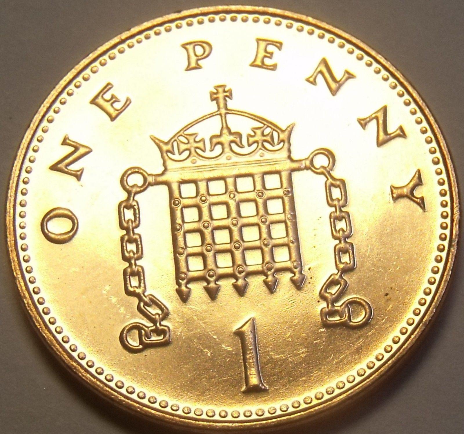 Gem Unc Great Britain 2000 Penny~U K  and 37 similar items