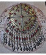 Antique Turkoman Tekke gilded Silver Pendant - $742.50